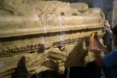 The Sarcophagus of St. Nicholas, (Santa Claus) Church, Demre, (Myra), 2013